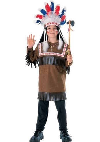 Click here to view Large Image  sc 1 st  The Costume Land & Kids Cherokee Warrior Boys Native American Costume | $14.99 | The ...