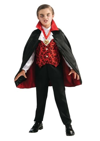 Click here to view Large Image  sc 1 st  The Costume Land & Kids Deluxe Vampire Costume Boys | $23.99 | The Costume Land