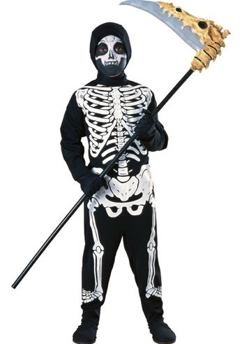kids boys skeleton halloween costume 1999 the costume land - Skeleton Halloween Costume For Kids