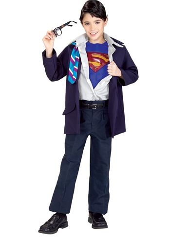 Click here to view Large Image  sc 1 st  The Costume Land & Kids Clark Kent Superman Boys Costume | $29.99 | The Costume Land