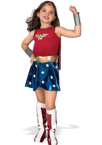 Girls Halloween Costumes (RU82312 - Wonder Woman Costume)