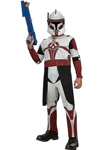 Click here to view Large Image  sc 1 st  The Costume Land & Kids Clone Trooper Boys Commander Costume | $27.99 | The Costume Land