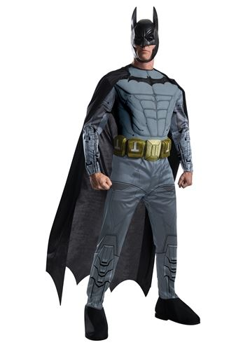 Click here to view Large Image  sc 1 st  The Costume Land & Adult Batman Arkham Batman Deluxe Costume | $63.99 | The Costume Land