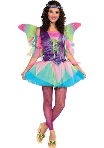 Click here to view Large Image  sc 1 st  The Costume Land & Adult Renaissance Women Rainbow Fairy Costume | $34.99 | The Costume ...
