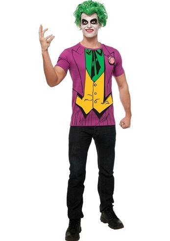 sc 1 st  The Costume Land & Adult Joker Classic Shirt Men Costume   $19.99   The Costume Land