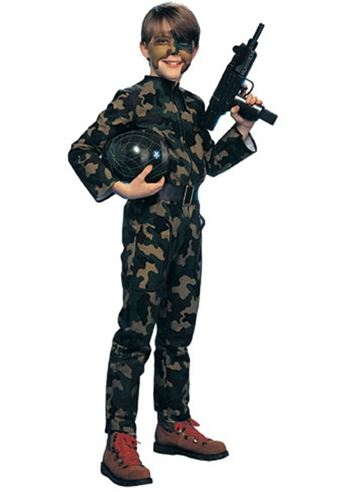 kids g i soldier boys army costume 2899 the costume land - Halloween Army Costume