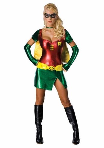 Click here to view Large Image  sc 1 st  The Costume Land & Adult Robin Hood Comic Superhero Woman Costume | $57.99 | The ...