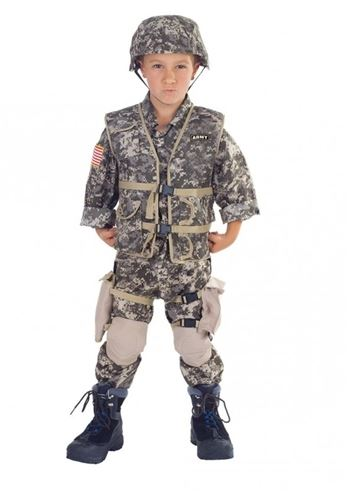 Click here to view Large Image  sc 1 st  The Costume Land & Kids Army Ranger Deluxe Boys Costume | $48.99 | The Costume Land
