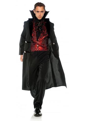 Adult Gothic Vampire Men Costume