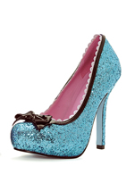 Blue Princess Shoe