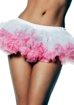 Adult Puffy Chiffon Mini Petticoat