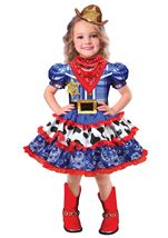 Rodeo Cutie Girls Costume