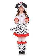 Dotted Doggy Girls Damatian Costume
