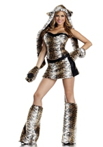 Temptuous Tiger Womens Costume