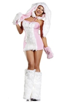 Blushing Bunny Womens Costume