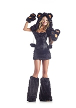 Black Bear Womens Costume