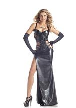 Adult Dark Angel or Gothic Vampire Womens Costume