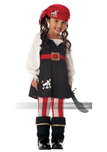 Precious Lil Girls Pirate Costume
