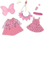 Sweet Fairy Princess Girls Deluxe Halloween Costume