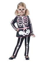Itty Bitty Bones  Girls Costume