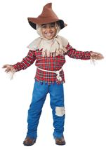 Harvest Time Scarecrow Boys Costume