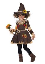 Pumpkin Patch Scarecrow Girls Costume