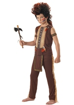 Indian Warrior Boys Costume