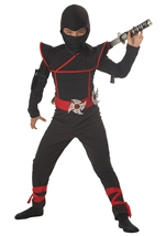 Stealth Ninja Black Boys Costume