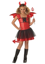 Devil Darling Girl Kids Costume