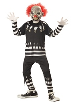 Creepy Clown Boys Halloween Costume