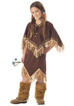 Princess Wildflower Girls Native American Costume