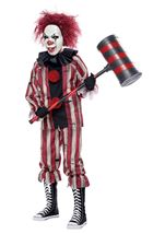 Nightmare Crazy Clown Boys Costume