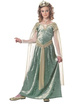 Queen Guinevere Girls Costume