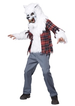 White Werewolf Boys Costume
