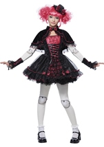 Victorian Doll Tween Girls Costume