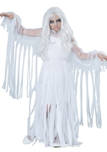 Kids Ghostly Girl Halloween Costume