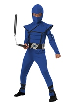 Stealth Ninja Blue Boys Costume