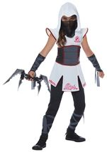Fearless Ninja Girls Costume