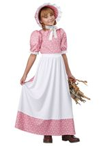 Early American Girls Costume