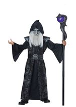 Dark Wizard Boys Costume