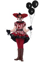 Wicked Clown Girls Costume