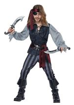Sea Scoundrel Boys Costume