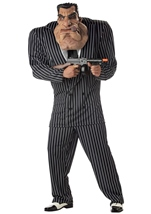 Massive Mobster Men Halloween Deluxe Inflatable Costume
