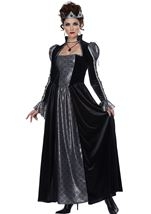 Dark Majesty Royal Queen Woman Costume