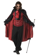 Count Bloodthirst Men Vampire Costume