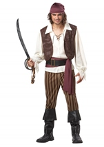 Rogue Pirate Men Costume