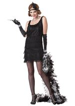 Fashion Flapper Woman Costume
