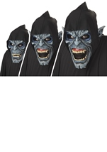 Night Fiend Men Halloween Anti Motion Mask Halloween Costume