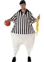 Refereee Men Hoop Funny Costume