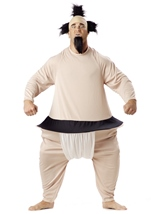 Sumo Wrestler Men Classic Costume